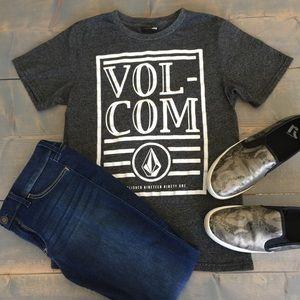 Volcom Gray T-shirt Size M